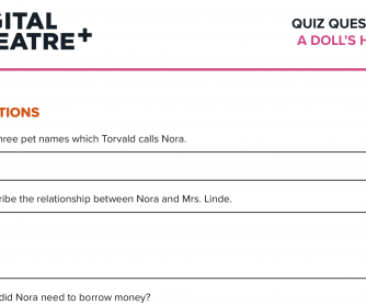 A Doll's House – Quiz Questions