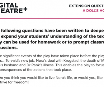 Extension Questions for A Doll's House