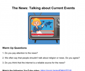 Talking about World News