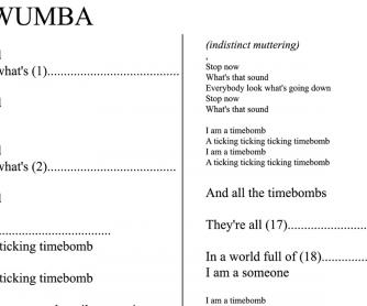 Chumbawumba – Timebomb – Song gap-fill Exercise