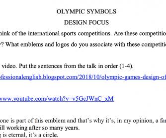 Olympic Games – Logo design history