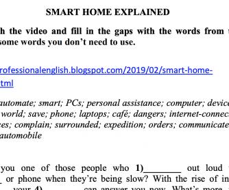 Smart Home Explained